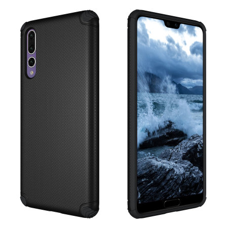 Olixar Magnus Huawei P20 Pro Case and Magnetic Holders - Black