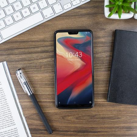 Funda OnePlus 6 Olixar FlexiShield Gel - Negra