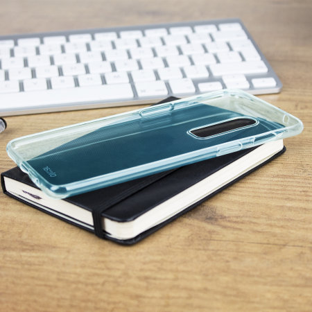 Olixar FlexiShield OnePlus 6 Gel Case - Blue