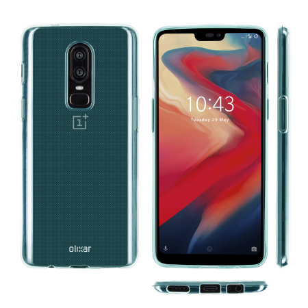 Funda OnePlus 6 Olixar FlexiShield Gel - Azul
