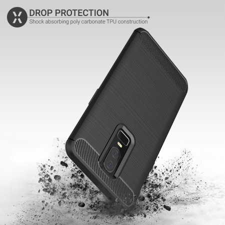 Olixar Sentinel OnePlus 6 Case and Glass Screen Protector