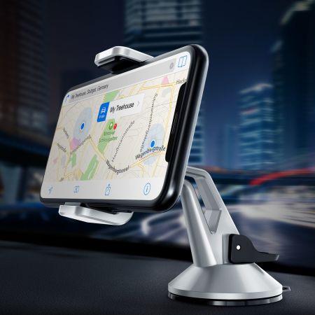 VRS Design Hybrid Grab Mini Universal In-Car Mount - Silver