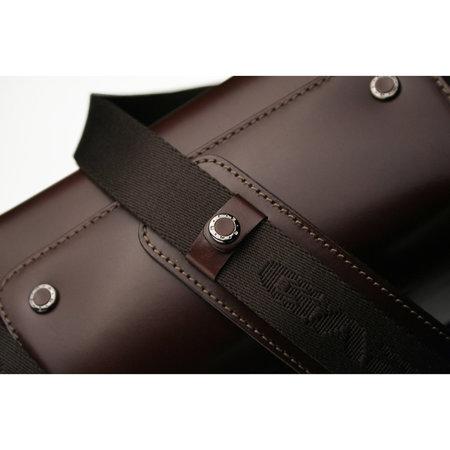 Gariz Premium Leather Camera Bag For Mirrorless Cameras - Maroon