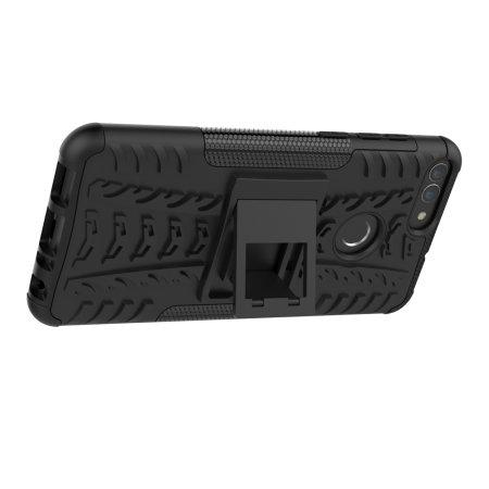 Olixar ArmourDillo Huawei P Smart 2018 Protective Case - Black