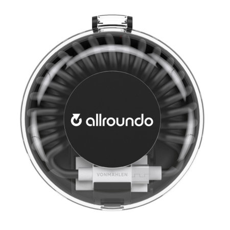 Allroundo Plus All-In-One Charging Cable - Black