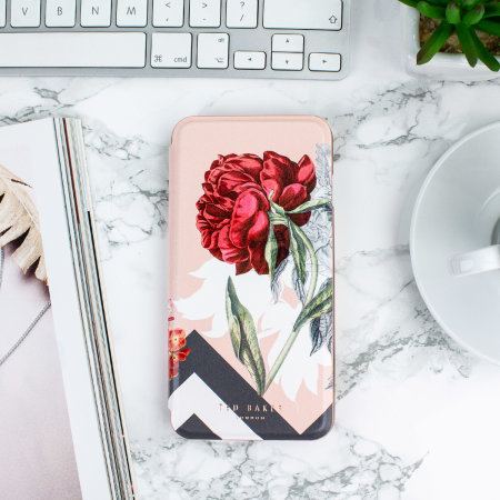 ted baker emmare iphone 7 plus mirror folio case - palace gardens