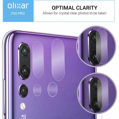 Olixar Huawei P20 Pro Tempered Glass Camera Protectors - 2er Pack