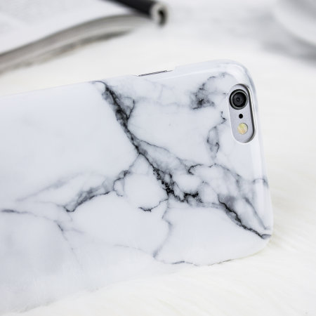 LoveCases Marble iPhone 6 Case - Classic White
