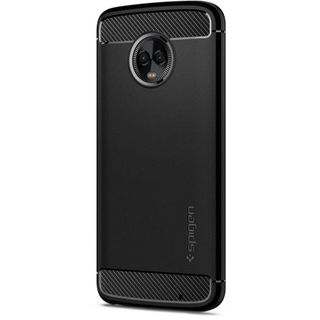 purchase cheap 61226 6d595 Spigen Rugged Armor Motorola Moto G6 Tough Case - Black