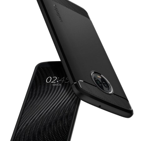 c9f352731c1 Spigen Rugged Armor Motorola Moto G6 Plus Tough Case - Black