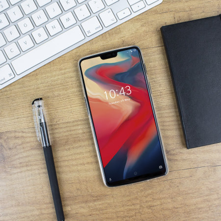 Funda OnePlus 6 Olixar Ultra-Thin Gel - Transparente