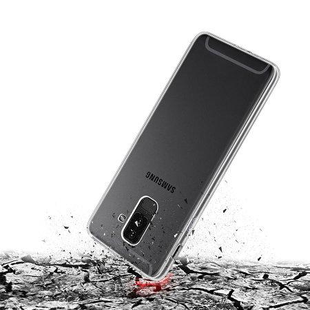2b643709c72 Olixar Ultra-Thin Samsung Galaxy A6 Plus Gel Case - 100% Clear
