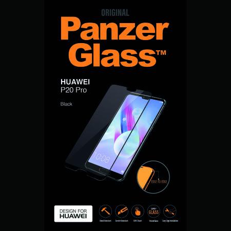 PanzerGlass Case Friendly Huawei P20 Pro Screen Protector - Black
