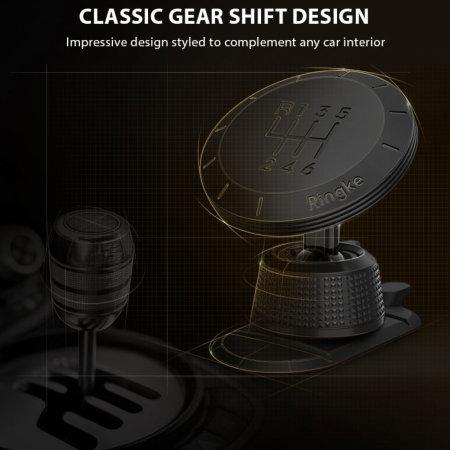 Support voiture magnétique Ringke Gear pour tableau de bord