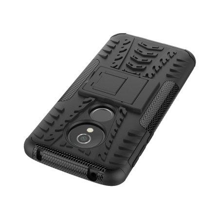 Olixar ArmourDillo Motorola Moto G6 Play Protective Case - Black