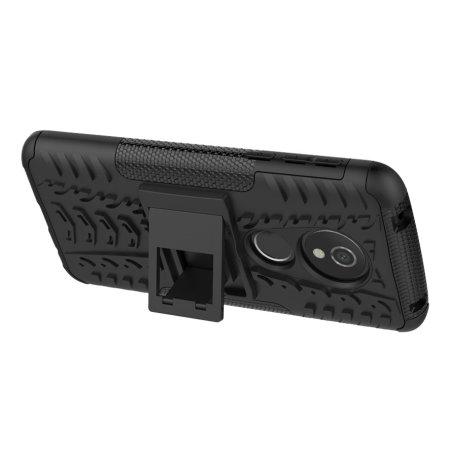 Olixar ArmourDillo Motorola Moto G6 Play Case - Zwart