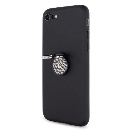 LoveCases Diamond Ring iPhone 8 / 7 Case - Black