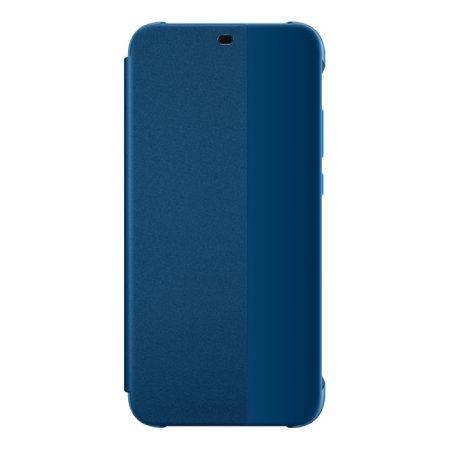 Official Huawei P20 Lite Smart View Flip Case - Blue