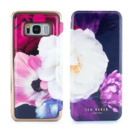 check out 4a9e6 bb1ca Ted Baker Candace Samsung Galaxy S8 Mirror Case - Blushing Bouquet