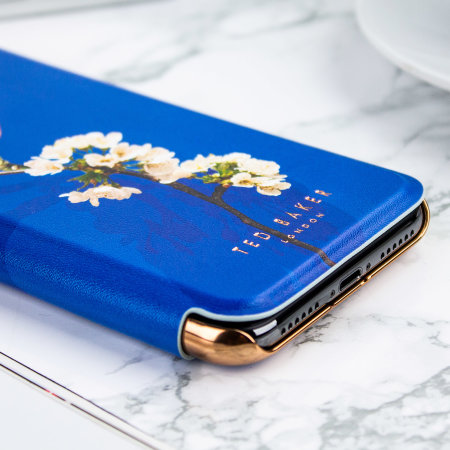 Ted Baker Layyli iPhone X Mirror Folio Case - Harmony Mineral