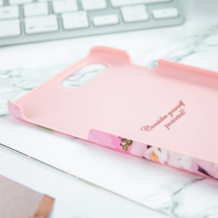 Ted Baker Dorsao iPhone 8 Plus Soft Feel Shell Case - Fairy Tale Pink
