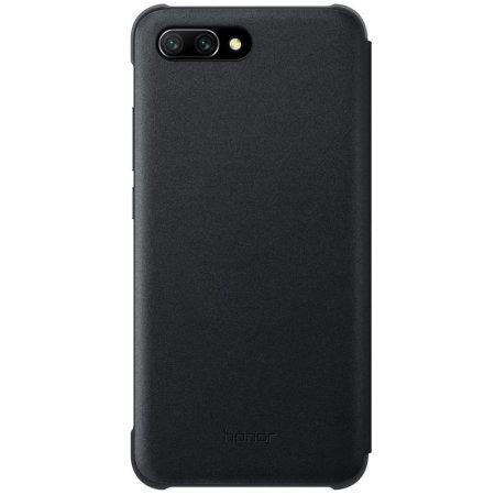 Housse Officielle Huawei Honor 10 Smart View Flip – Noire