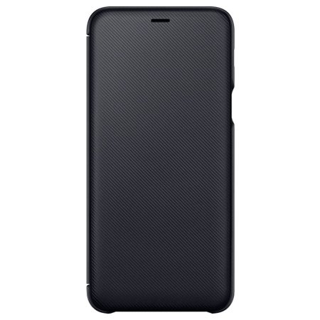 ccd21e9707fe Official Samsung Galaxy A6 Plus 2018 Wallet Cover Case - Black
