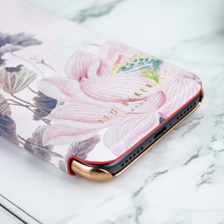ted baker lyra iphone 8 mirror folio case - lake of dreams