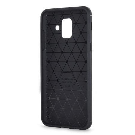 Samsung Galaxy A6 2018 Case & Glass Screen Protector - Olixar Sentinel