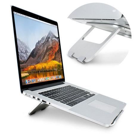 MacBook Aluminium Stand - Ergonomic Lift Riser - Olixar ErgoRiser