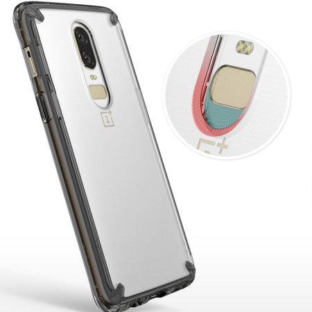 sale retailer 1ff8c 1541e Ringke Fusion OnePlus 6 Case - Smoke Black