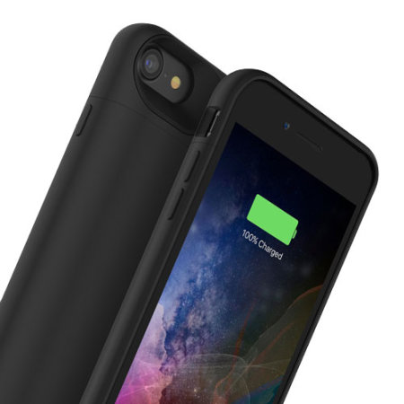 pretty nice 63c6e 7081f Mophie MFi iPhone 8 Juice Pack Air Battery Case - Black