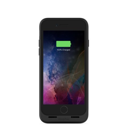 mophie mfi iphone 8 juice pack air battery case - black