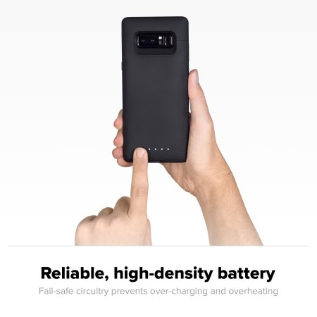 on sale c78c3 115dc Mophie Samsung Galaxy Note 8 Juice Pack Battery Case - Black