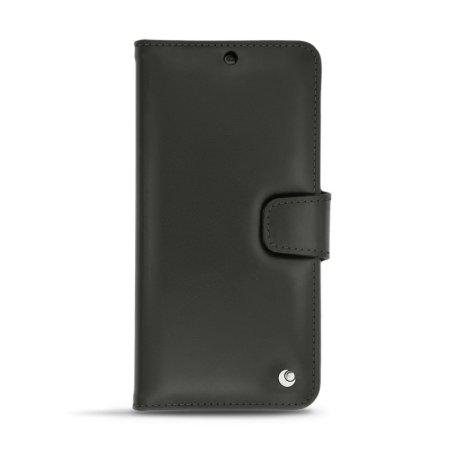 Funda OnePlus 6 Noreve Tradition B Cuero Auténtico - Negra