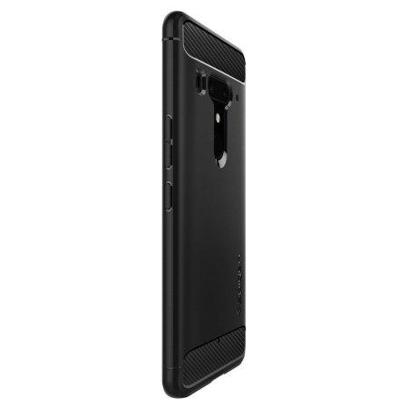 brand new f15f4 fe2a4 Spigen Rugged Armor HTC U12 Plus Case - Black