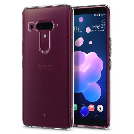 Spigen Liquid Crystal HTC U12 Plus Shell Case - Clear