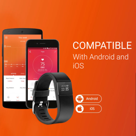 Acme Fitness Activity Tracker with Display for iOS and Android