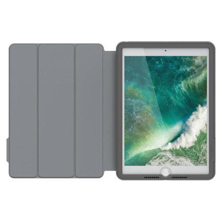 OtterBox UnlimitEd iPad 9.7 2017 Tough Folio Case - Slate Grey