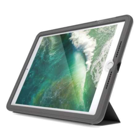 OtterBox UnlimitEd iPad 9.7 2018 Tough Folio Case - Slate Grey