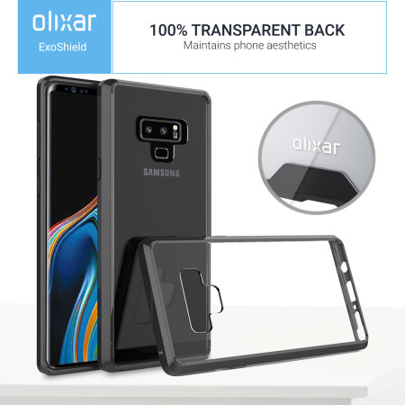 Funda Samsung Galaxy Note 9 Olixar ExoShield - Negra