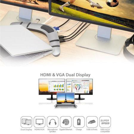 j5create USB 3 0 Boomerang Docking Station for Windows & Mac