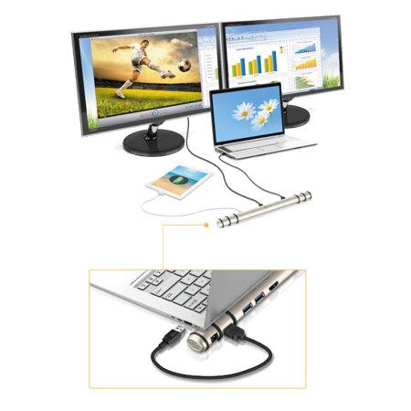j5create Mini Ultra Station USB Docking Station for Windows & Mac