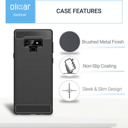 Samsung Galaxy Note 9 Tough Case and Screen Protector Olixar Sentinel