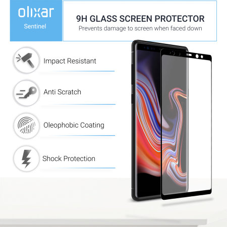 Olixar Sentinel Samsung Galaxy Note 9 Case en Screen Protector