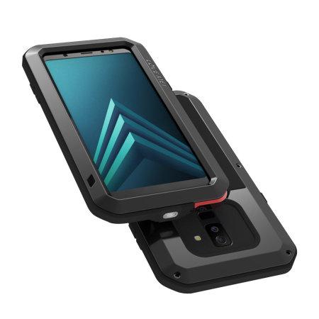 Love Mei Powerful Samsung Galaxy A6 Plus 2018 Protective Case - Black