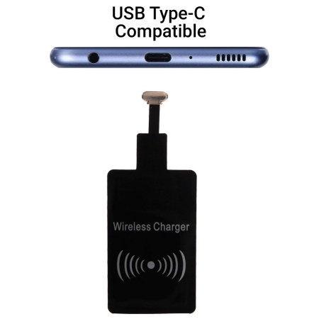 Samsung Galaxy A8 2018 Ultra Thin Qi Wireless Charging Adapter