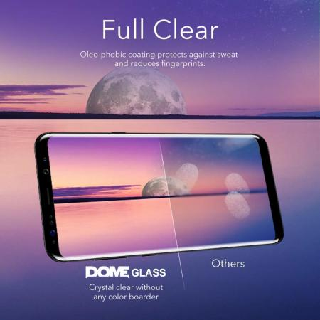 Protection d'écran Galaxy Note 9 Whitestone Dome Glass Full Cover