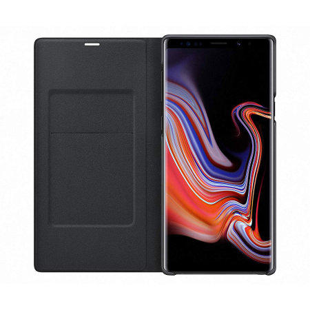 Funda Samsung Galaxy Note 9 Oficial LED View Cover - Negra