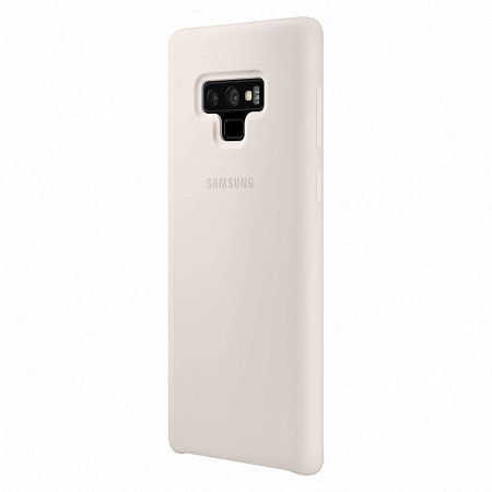 Official Samsung Galaxy Note 9 Silicone Cover Case - White